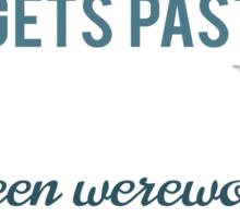 Teen Werewolf Senses Sticker