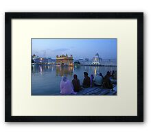 Spiritual Sikhism Framed Print