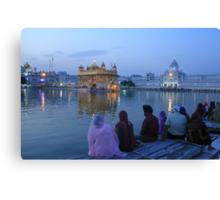 Spiritual Sikhism Canvas Print