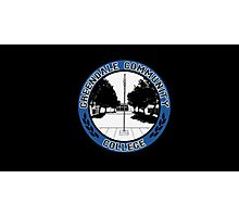 Greendale Community College Logo Photographic Print