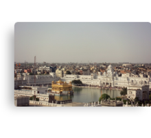 The City of Amritsar Canvas Print