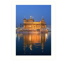 Amritsar Sikh Temple Art Print
