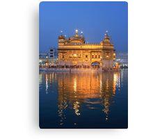 Amritsar Sikh Temple Canvas Print