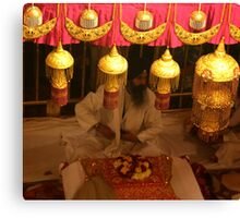 Inside The Golden Temple Canvas Print