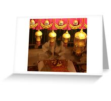 Inside The Golden Temple Greeting Card