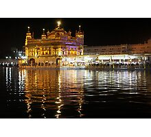 The Golden Temple  Photographic Print