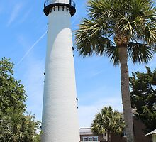 St Simons Lighthouse by Bob Hardy