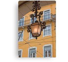 Lisbon lamp Canvas Print