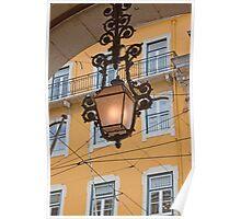 Lisbon lamp Poster