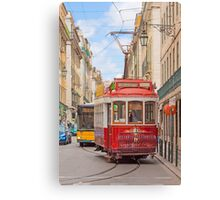 """eléctrico"" . Lisbon Canvas Print"