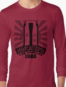 Nakatomi, 1988 (Black Print) Long Sleeve T-Shirt