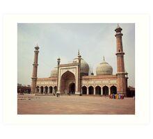 Jama Masjid Art Print