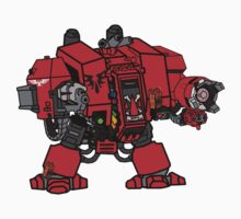 Blood Angels Dreadnought by herbertron