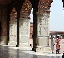 Jama Masjid by Jamie Mitchell