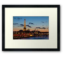 An evening in Paris Framed Print