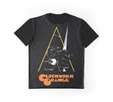A Clockwork Orange (Airbrushed) Graphic T-Shirt