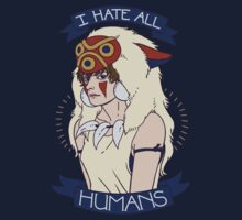 I Hate All Humans by Jessica Dawn