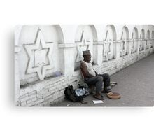 Scales Vendor Canvas Print