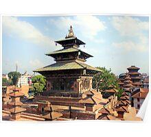 Taleju Temple Poster