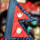 Flag of Nepal by Jamie Mitchell