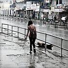Rainy Kathmandu by Jamie Mitchell