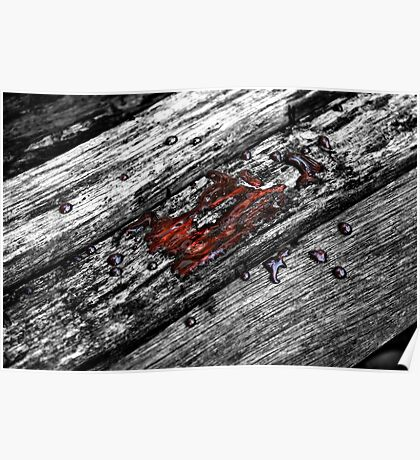 Blood and Wood Poster