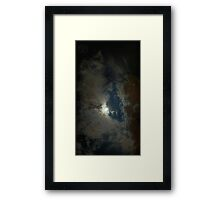 ©HCS Moon And Orange Glow II Framed Print