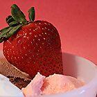 Strawberry on Neapolitan  by Stephen Thomas