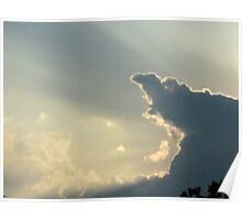 Pointy Cloud Poster