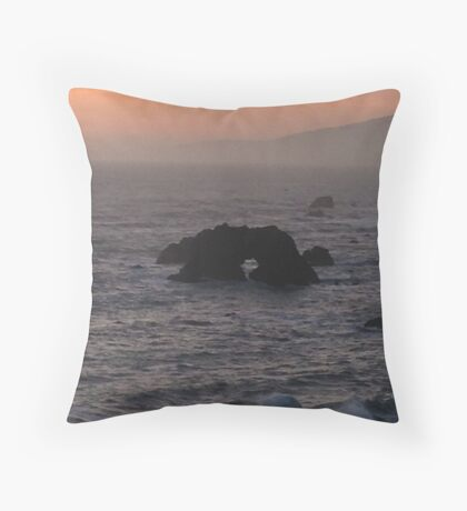 Arched Rock Throw Pillow