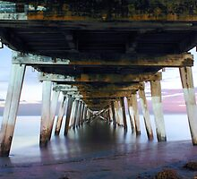 One night in Autumn under the Grange Jetty by BBCsImagery