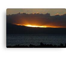 Hawaii Sunset Canvas Print