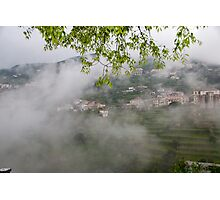 Italy - Ravello - On the way down the mountain Photographic Print