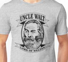 Uncle Walt (Black Print) Unisex T-Shirt