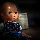Baby blue eyes by Cindy Crossley
