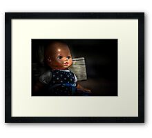 Baby blue eyes Framed Print