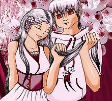 Cherry Blossom Spirits by LanDiMonk