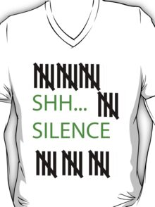 The Silence Are real T-Shirt