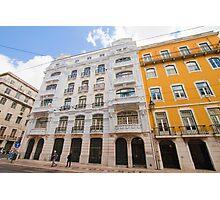 rua da prata.Lisboa Photographic Print