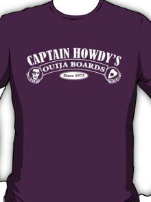 Captain Howdy's Ouija Boards (White Print) T-Shirt