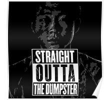 Glenn Outta the Dumpster Poster
