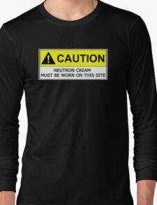 NEUTRON CREAM MUST BE WORN Long Sleeve T-Shirt