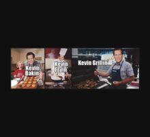 Bakin', Fryin', Grillin' (Kevin Bacon) by antdragonist