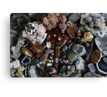 Crystals: Colours of Autumn Canvas Print