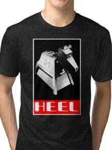Heel before K-9 Tri-blend T-Shirt