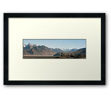 In the Realms of Rohan Framed Print