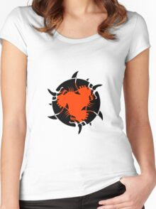 Feeding Frenzy Women's Fitted Scoop T-Shirt