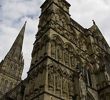 """""""Salisbury Cathedral"""" by baronessjack"""