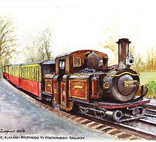 Blaenau-Ffestiniog Railway, North Wales by Dai Wynn