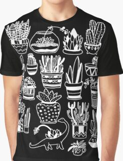 Succulent Party (Night Version) Graphic T-Shirt